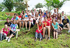 Students at ICLC Campus, Alajuela, Costa Rica